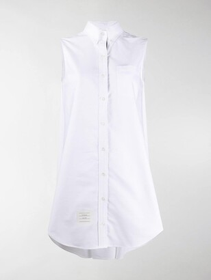 Thom Browne Button-Front Shirt Dress