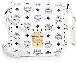 MCM Women's Small Patricia Visetos Shoulder Bag