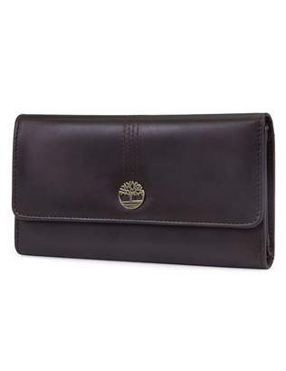 Timberland Leather RFID Flap Wallet Cluth Organizer