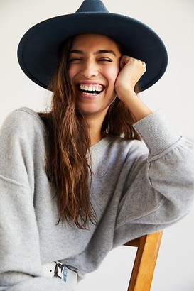 Free People Beaumont Suede Band Felt