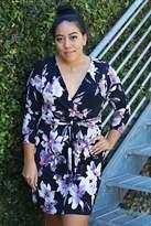 Veronica M Belted Kimono Dress