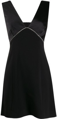Three floor Peretti embellished dress