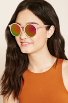 Forever 21 Mirrored Round Sunglasses
