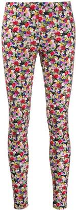 La DoubleJ Floral Print Leggings