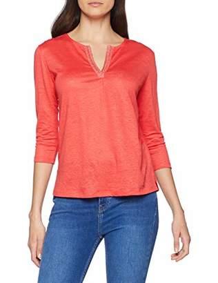 Brax Women's Carol Linen Leinenshirt Uni Blouse,(Size: 38)