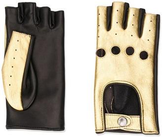 Manokhi Finger-Less Leather Gloves