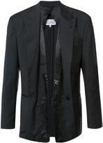 Maison Margiela layered front suit jacket - men - Virgin Wool - 48