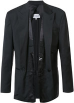 Maison Margiela layered front suit jacket - men - Virgin Wool - 50