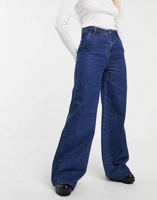 Blend She Ellis flared jeans-Navy