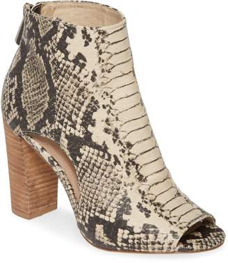 Charles by Charles David Fable Cutout Open Toe Bootie