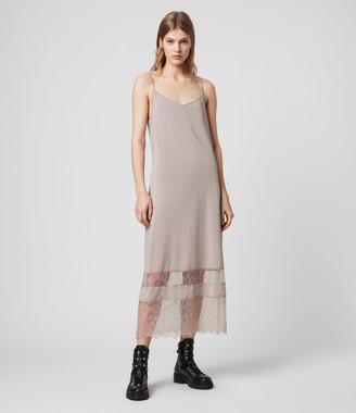 AllSaints Fran 2-in-1 Lace Dress