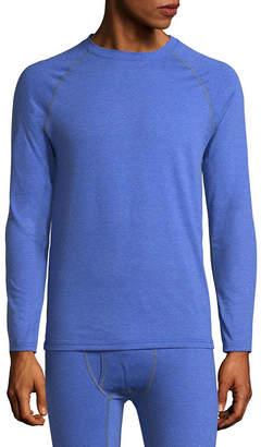 Fruit of the Loom Premium Breathable Mesh Crew Neck Long Sleeve Thermal Shirt Big & Tall