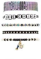 Charlotte Russe 90's Child Layering Bracelets - 5 Pack