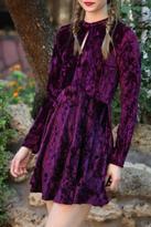 Angie Velvet Dress