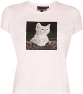Browns X Sara Shakeel kitten baby T-shirt