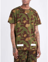 Off-White C/O Virgil Abloh Camouflage-print cotton-jersey T-shirt