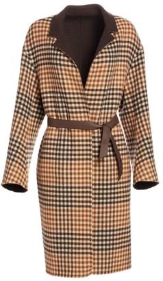 Loro Piana Cowan Reversible Scotland Argyle Coat