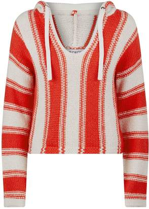 Wildfox Couture Chromatic Stroke Hooded Sweater