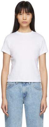A Gold E Agolde AGOLDE White Baby T-Shirt