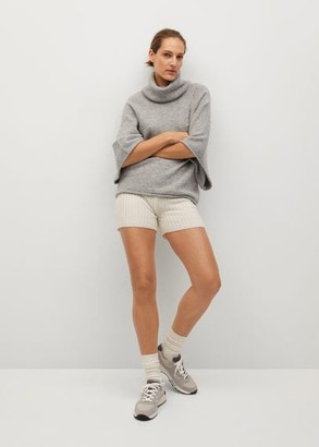 MANGO Oversize knit sweater
