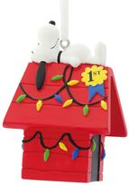Hallmark Peanuts Snoopy Doghouse Christmas Ornament by