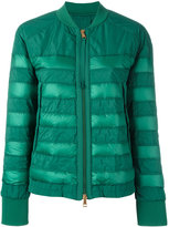 Moncler Brulee cropped jacket - women - Feather Down/Polyamide/Polyester - 1