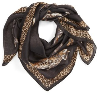 Collection XIIX Women's Caturday Square Scarf