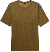 Issey Miyake Mélange Crepe-Jersey T-Shirt