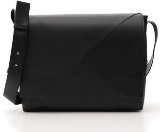 Bottega Veneta Panelled Messenger Bag