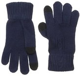 Haggar Men's Cable-Knit Gloves