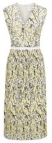 HUGO BOSS - Embroidered Lace Dress With Plisse Skirt Part - Patterned