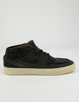 Nike SB Zoom Janoski Mid Crafted Black & Gold Beige Shoes