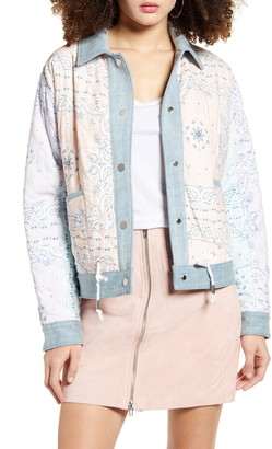 Blank NYC Reversible Denim Jacket