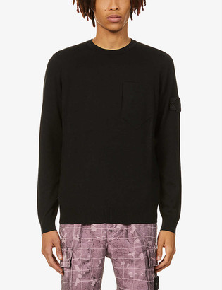 Stone Island Shadow Project Shadow Project crewneck cotton-knit jumper