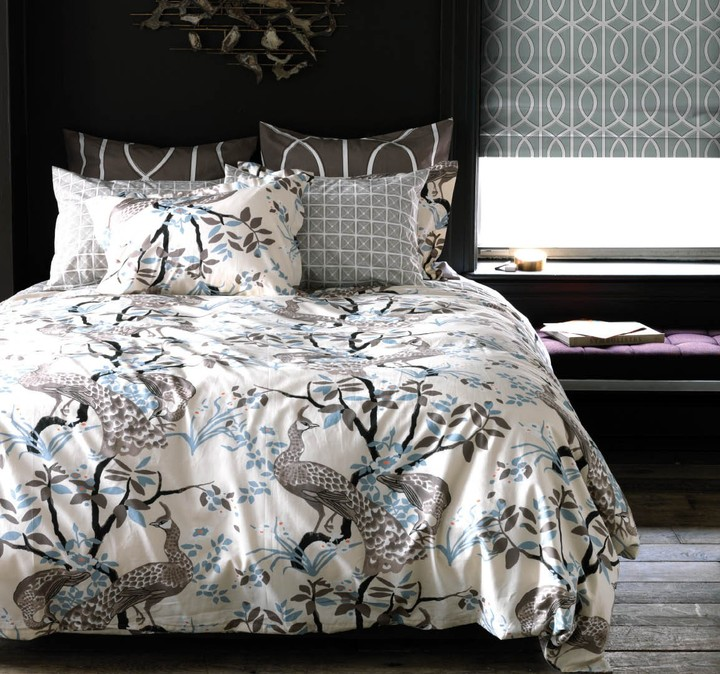 DwellStudio Peacock Dove Duvet Set