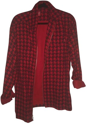 Supreme Red Cotton Jacket for Women