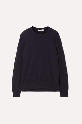 The Row Olive Cashmere Sweater - Navy