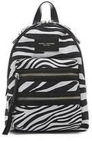 CONTEMPORARY Zebra Printed Biker Backpack