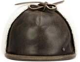 Maison Michel leather cap - men - Leather - M