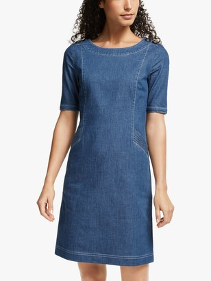 Boden Iona Denim Dress, Vintage Blue