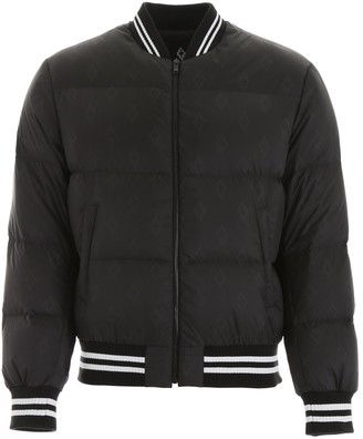 Marcelo Burlon County of Milan Padded Bomber Jacket