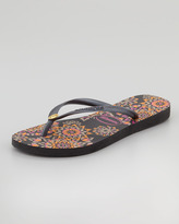 Havaianas Slim Illusion Flip-Flop, Black