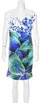 Roberto Cavalli Printed Sheath Dress