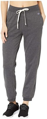 Champion Heritage French Terry Joggers (Granite) Women's Casual Pants