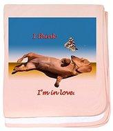 CafePress - Forever Love baby blanket - Baby Blanket, Super Soft Newborn Swaddle