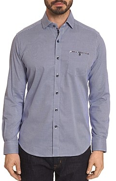 Robert Graham Boone Geometric-Pattern Classic Fit Shirt