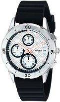 Fossil Women's ES4221 Modern Pursuit Sport Chronograph Black Silicone Watch