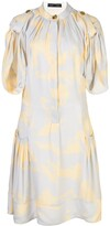 Thumbnail for your product : Proenza Schouler Brush print short dress