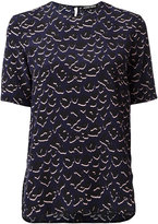 Markus Lupfer leopard print blouse - women - Silk - S
