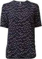 Markus Lupfer leopard print blouse